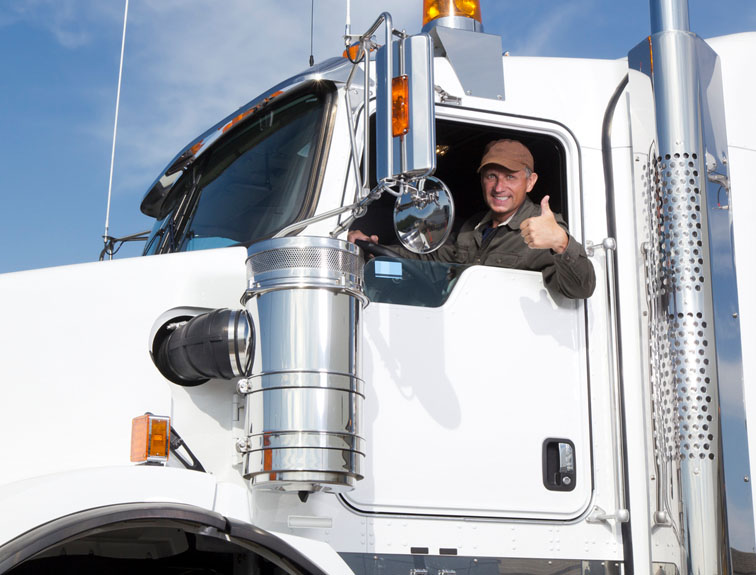 Finding the best seat for an OTR truck driver.